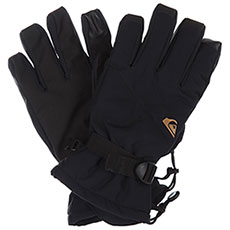 Перчатки сноубордические QUIKSILVER Mission Glove Black