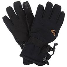 Перчатки сноубордические детские QUIKSILVER Mission Yth Glove Black