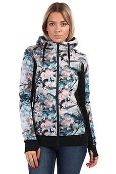 Толстовка сноубордическая женская Roxy Frost Printed Bachelor Button Wate