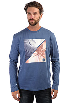 Лонгслив QUIKSILVER Colonghtls Blue