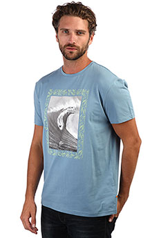 Футболка QUIKSILVER Niceright Blue Shadow