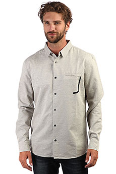 Рубашка QUIKSILVER Qtrvlshirt Light Grey Heather