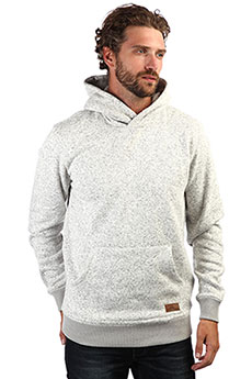 Толстовка кенгуру QUIKSILVER Kellerhood Light Grey Heather