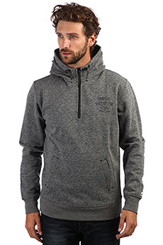 Толстовка кенгуру QUIKSILVER Yattemihood Medium Grey Heather