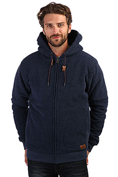 Толстовка утепленная QUIKSILVER Kellersherpa Navy Blazer Heather