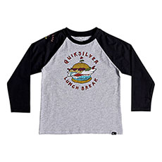 Лонгслив детский QUIKSILVER Quiklunchlsboy Athletic Heather
