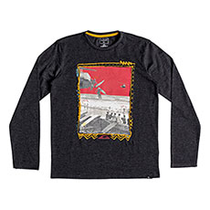 Лонгслив детский QUIKSILVER Ddaylsteeyth Dark Grey Heather