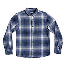 Рубашка в клетку детская QUIKSILVER Fatherfly Navy Blazer Fatherfl