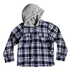 Рубашка в клетку детская QUIKSILVER Snap Up Navy Blazer