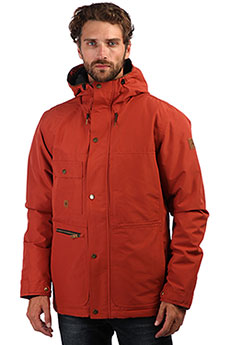 Куртка зимняя QUIKSILVER Canyon Barn Red