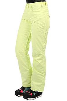 Штаны сноубордические женские Roxy Backyard Pt Sunny Lime