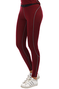 Термобелье (низ) Super Natural W Base Tight Burgundy