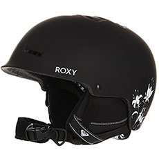 Шлем для сноуборда женский Roxy Avery True Black love Lett
