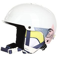 Шлем для сноуборда детский Roxy Happyland Bright White alska B