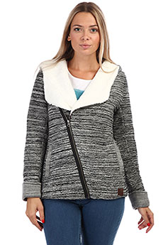 Толстовка утепленная женская Rip Curl Chaani Lined Hooded Fleece Steel Marle