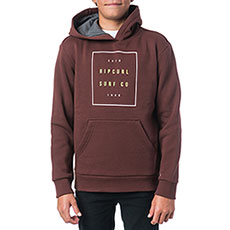Толстовка кенгуру детская Rip Curl Basic Logo Gradian Hooded Fleece Andorra