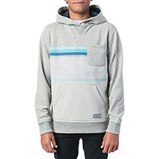 Толстовка кенгуру детская Rip Curl Yarn Dyed Stripe Hooded Fleece Cement Marle
