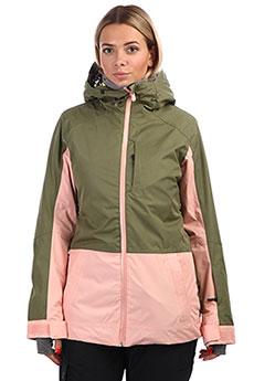Куртка утепленная женская Roxy Tb Snowflake Jk Four Leaf Clover