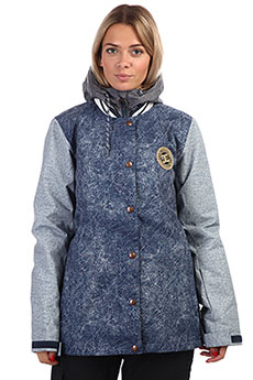 Куртка женская DC Dcla Women Jkt Blue Acid Wash