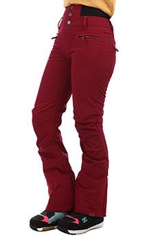 Штаны сноубордические женские Roxy Rising High Pt Beet Red