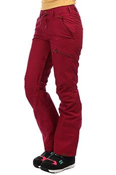 Штаны сноубордические женские Roxy Nadia Pt Beet Red