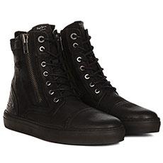 Высокие кеды Pepe Jeans London Mlt Nubuck Черные