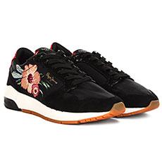 Кроссовки женские Pepe Jeans London Foster Rose Черные
