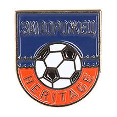 Значок Запорожец Футбол Волна Разноцветный