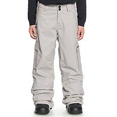 Штаны сноубордические детские DC Banshee Neutral Gray