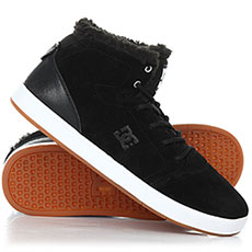 Кеды зимние DC Shoes Crisis High Wnt Black/White/Gum