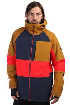 Куртка утепленная QUIKSILVER Sycamore Dress Blues