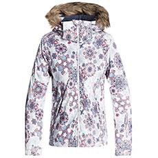 Куртка утепленная детская Roxy Jet Ski Girl Jk G Snjt Bright White snowfla