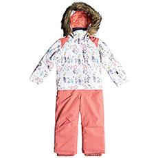 Комбинезон сноубордический детский Roxy Paradise Suit Bright White_animals