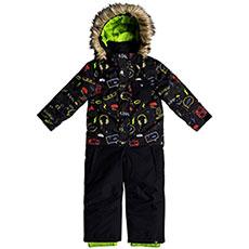 Комбинезон сноубордический детский QUIKSILVER Rookie Kids Sui K Snsu Black_maoam Tatt