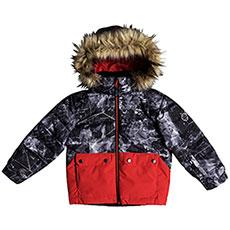 Куртка утепленная детская Quiksilver Edgy Kids Jk K Snjt Black tannenbaum