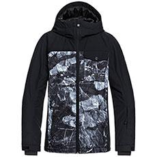 Куртка утепленная детская Quiksilver Miss Blk Yth Jk B Snjt Black tannenbaum