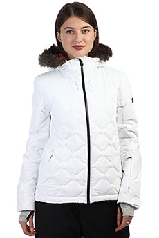 Куртка утепленная женская Roxy Breeze Bright White