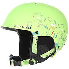 Шлем для сноуборда детский QUIKSILVER Empire Lime Green moam Tatt