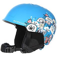 Шлем для сноуборда детский QUIKSILVER Empire Daphne Blue animal P