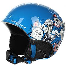 Шлем для сноуборда детский QUIKSILVER The Game Daphne Blue animal P