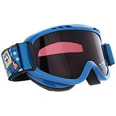 Маска для сноуборда детская QUIKSILVER Flake Goggle Daphne Blue animal P