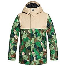 Куртка утепленная детская DC Defy Chive Leaf Camo Yout