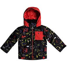 Куртка утепленная детская QUIKSILVER Little Miss Black Maoam Tatt