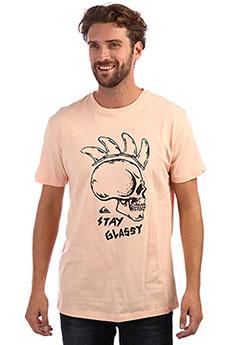 Футболка QUIKSILVER Stayglassyss Peach Parfait