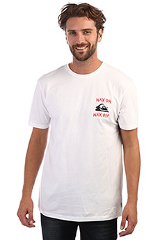 Футболка QUIKSILVER Waxjobss White