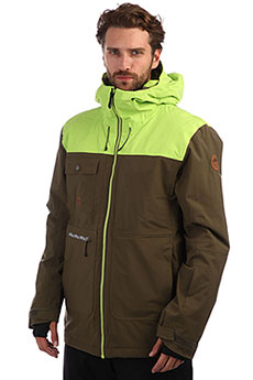 Куртка утепленная QUIKSILVER Arrow Wood Grape Leaf