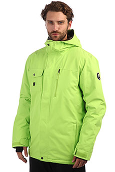 Куртка зимняя QUIKSILVER Mission Soli Lime Green