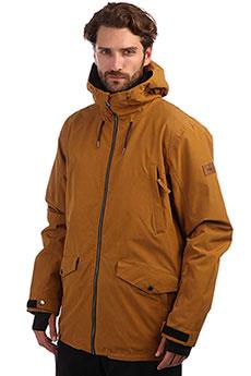 Куртка утепленная QUIKSILVER Drift Golden Brown