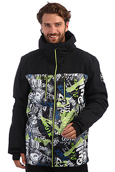 Куртка утепленная QUIKSILVER Mission Black Construct