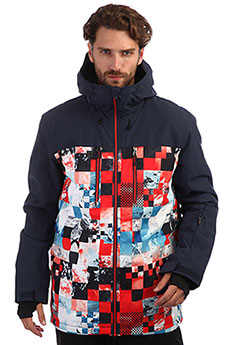 Куртка QUIKSILVER Mission Flame Scarlett Money